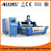 Alibaba Best Manufacturers,high quality 500W easy operation fiber laser metal cutting bed BCL1540FB(China)