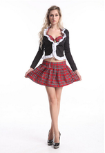 free pp real picture!!!! ZT8583 school girl costume Sexy Lingerie School Uniforms Costumes Sexy School Girl Costume