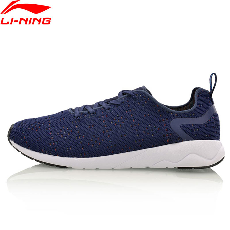 Li-Ning Heather Walking Shoes Men Breathable LiNing Sports Shoes Wearable Mono Yarn Leisure Sneakers AGCM055 YXB076<br>