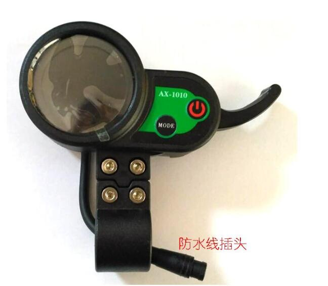 Modified electric scooter color screen instrument panel accelerator instrument code throttle display AX-1010