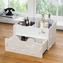 Dresser Cosmetic Storage Box Cellphone Charging Cable Plastic Storage Shelf Office Classic Holder  Desktop Storage Rack