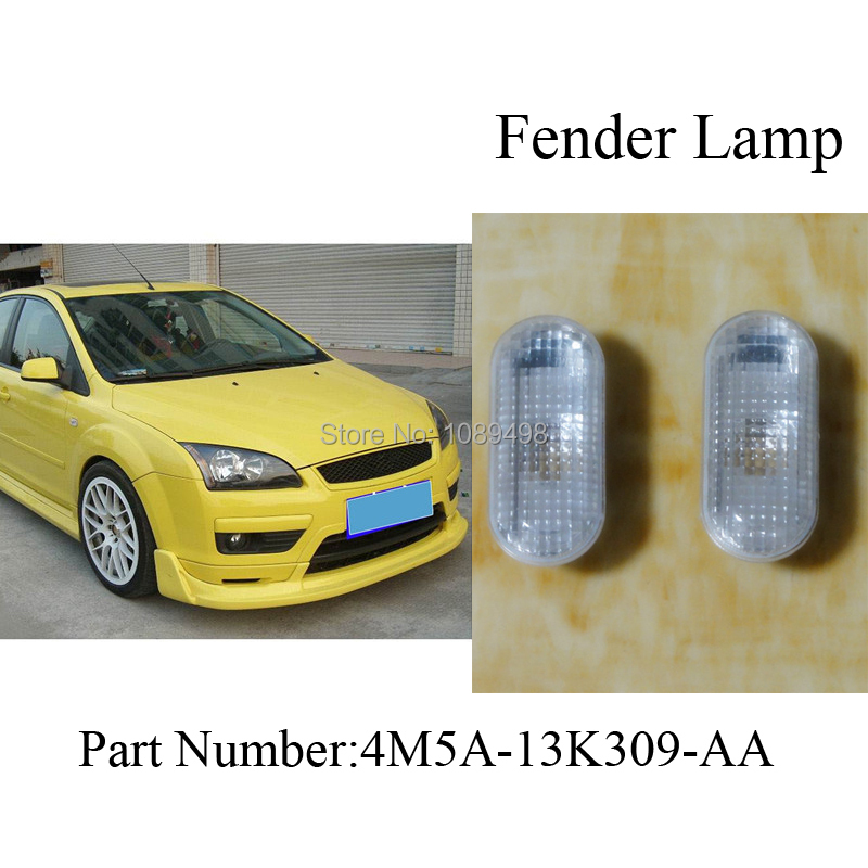 2Pcs/Pair Fender side lamp light without bulbs for Ford Focus 2 II 2005-2008<br><br>Aliexpress
