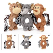 Pet Dog Voice Small Toy Dog Training Monkey Elephant Ring Toys Training Accessories P20