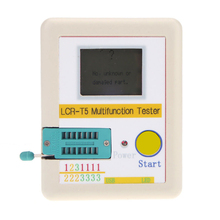 Buy LCR-T5 LCD Transistor Tester Diode Triode Capacitance ESR Meter MOS Triac + Case for $24.21 in AliExpress store