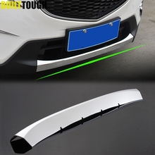 For Mazda Cx-5 Cx5 2012 2013 2014 2015 2016 Chrome Front Lower Bumper Lip Grille Grill Cover Trim Molding Garnish Gar Protector