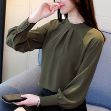 Buy 2018 New Autumn Women Blouse Long Sleeve Chiffon Blouse Fashion Elegant Ladies Shirts Casual Tops Lady Shirt Blusas Femininas for $9.94 in AliExpress store