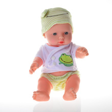 BOHS Lifelike Reborn Babies Baby Doll Soft Silicone Vinyl Real Touch Lovely Toy 30cm,12 inch(China)