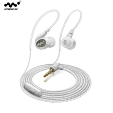 HONGBIAO SM D5 Sport Headsets In-Ear 3.5mm Jack Bass Earphones Heavy Bass With Microphone For iPhone 6 6S 5 apple Xiaomi sony S