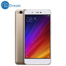 Dreami Original Xiaomi Mi 5S mi5s 3GB RAM 64GB ROM Cellphone Snapdragon 821 Quad Core 5.15 Inch Mi5s Ultrasonic Fingerprint