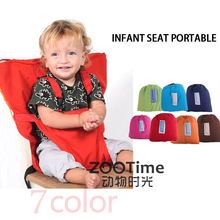 Baby Chair Portable Infant Seat Product Dining Lunch Chair/Seat Safety Belt Feeding High Chair Harness Baby chair seat(China)
