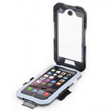 Motorcycle Bike Sports Handle Bar Mount Holder For iPhone 5/ 6 /6 Plus Superior IPX8 Waterproof Case For iPhone 5 6 6plus Cover