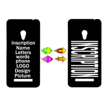 New 2016 DIY LOGO Design Inscription Name Photo Picture Printing Cell Phone Protective Custom Case Cover for Asus zenfone 5