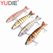 Buy 1Pcs 3D Eyes 13cm 19g Hard Wobblers Crank Lure Sea Carp Fly Fishing Spinner Bait Accessories Jig Hooks Tool Fish Sport lures for $3.52 in AliExpress store