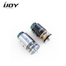 Original IJOY RDTA 5 Tank  E-cig kit 4ml with Resin Drip Tip Top Fill System Adjustable Side bottom Airflow RTA atomizer Vape