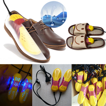 Dry shoes running shoes sterilization warm shoe baking equipment voilet light dryer foot Deodorant heater EU Plug