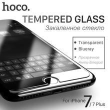 HOCO Tempered Protective Glass Film for iPhone 7 & 7 PLUS Touch Screen Protector Cover Protection for Screen iPhone7 Transparent
