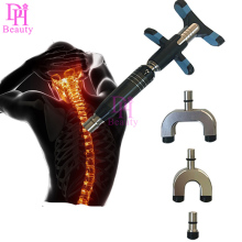 2017 New Chiropractic Adjusting Instrument Spine Activator For Backbone Modulation 6 Levels 3 Heads manual Activator Massager(China)