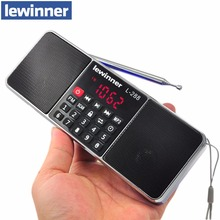 Mini Portable Rechargeable Stereo L-288 FM Radio Speaker LCD Screen Support TF Card USB Disk MP3 Music Player Loudspeaker