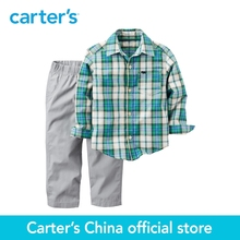 Carter's 2pcs baby children kids Shirt & Pant Set 229G241,sold by Carter's China official store