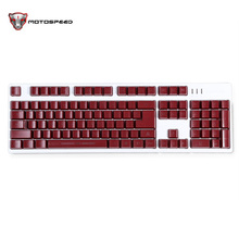 New Brand Motospeed K40L Gaming Keyboard Qwerty English Version Ergonomics Design White Color with Backlight for Pro Gamer