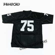 Retro star #75 Howie Long Embroidered Throwback Football Jersey(China)