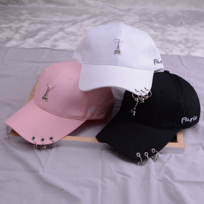 baseball cap with ring dad hats for women men baseball cap women white black baseball cap men dad hat (35)
