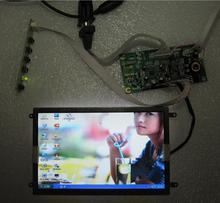 NoEnName_Null 7.0 inch HDMI deskto screen with USB touch panel 800*480 LCD module 4:3 vehicle drive board(China)