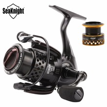 SeaKnight WR Series Spinning Reel Brand 6.2:1 10+1 Ball Bearings Fresh Water Fishing Reel Wheels Gear Pesca +Free Spare Spool