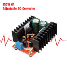 150W 6A Adjustable DC Boost Converter Step Up 10-32V to 12-35V Voltage Charger Module Power Supply Inverters Converter(China)