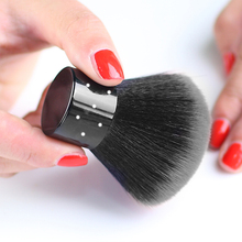 Yayoge Nail Brush Soft Nail Cleaning Brush Nail Art Manicure Tools Dust Cleaner black