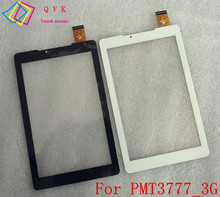 7inch for prestigio multipad color 2 3g PMT3777_3G_C_VI_CIS tablet pc touch screen panel digitizer glass sensor replacement Free