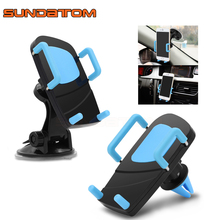 Universal 2 in 1 Car Dashboard Mobile Mount Stand Windshield Phone Holder For iPhone Samsung Smartphone(China)