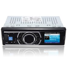 Car Radio Vehicle Audio Stereo In-dash 1 Din FM Aux Input Receiver SD USB MP3 MMC WMA Car Radio Player