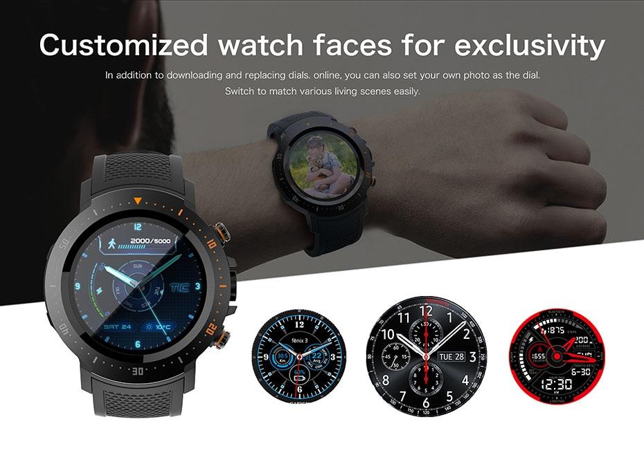 COLMI Flagship 4G Smart watch Android 7.1 OS MTK6739 1GB+16GB 400400 Display 530MAH IP67 waterproof GPS Men Smartwatch 6
