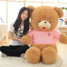 Creative Cute high quality Low price stuffed animals Bear Plush toys large teddy bear big bear doll lovers birthday baby gift