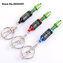 High Quality Metal Suspension Damper Coilover Car Key Ring Chain for Jaguar XF XJ XJS XK S-TYPE X-TYPE XJ8 XJL XJ6 XKR
