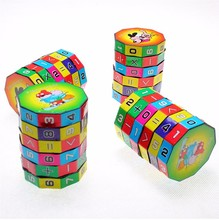2017 Creative Baby Kids Child Math Numbers Cube Rubics Faceted Mind Game Puzzle Education Toys Brand New Good Quality