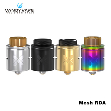 Original Vandy Vape Mesh RDA Tank 1.0ML 24mm with Bottom Feeding Squonk Pin fit Replacement mesh Wire and Standard Coil Mesh RDA