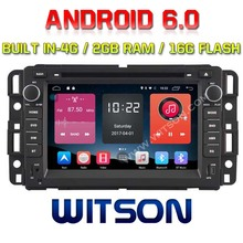 WITSON QUAD-Core Android 6.0 CAR DVD PLAYER  For GMC YUKON/SUBURBAN/TAHOE/ACADIA 2G RAM BULIT IN 4G 16GB ROM