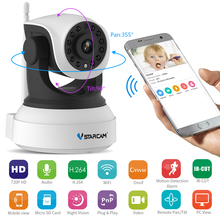 VStarcam Baby Monitor Ip Camera Wireless Wifi Wi-fi Video Surveillance Night Security HD 720 CCTV Camera Network Indoor C7824WIP(China)