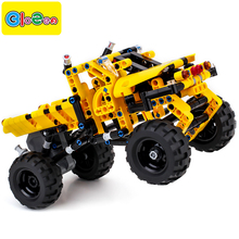BIOZEA kids classic toys educational car for children girls boys cars toy truck building blocks set city technic funny bricks(China)