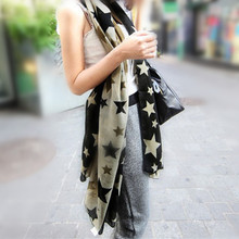 Silk Womens Winter Scarves Discounts Ipek Bicolor Star Scarf Fall Porcelain Necklace Fashion Scarf Gifts For New Years WJ051