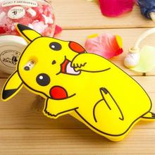 For Coque iPhone 6 Case Silicone 3D Cute Pok mon Case iPhone 6 Cover Silicon Pokemons Case For Fundas iPhone 6 6S Plus 5 5S SE(China)
