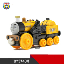 Diecast Metal Train ROCKET STEPHEN Megnetic Trains Toy The Tank Engine Trackmaster Toy For Children Kids Gift-Thomas and Friends(China)
