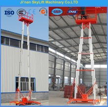 6m two mast hydraulic lift platfrom for sale
