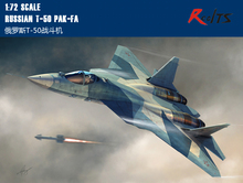 RealTS Hobby Boss model 87257 1/72 Russian T-50 PAK-FA plastic model kit hobbyboss(China)