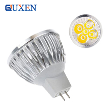 10PCS High power CREE Led Lamp Dimmable MR16 3W 4W 5W 6W 8W 9W 10W 12W 12V Led spot Light Spotlight led bulb downlight lighting(China)