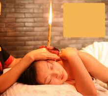 100 Pair (200 Pcs) Natural Coning Candle Ear Candling Thermo-Auricular Therapy Straight Style Ear candle Ear detox care clean(China)