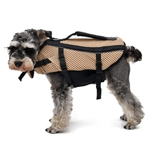 Classic Durable Oxford Breathable Mesh Pet Dog Life Jacket Summer Dog Swimwear Puppy Life Vest Safety Clothes For Dogs