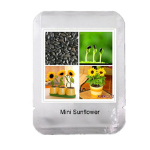 50 mini sunflower seeds Dwarf sunflower seeds sunflower series height 40cm Bonsai Flower Seeds * Professional Packaging, #XRK002